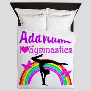 TALENTED GYMNAST Queen Duvet