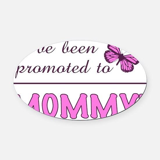 PromotedMommy Oval Car Magnet