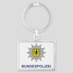 Bundespolizei Landscape Keychain