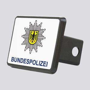 Bundespolizei Rectangular Hitch Cover