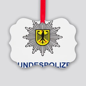 Bundespolizei Picture Ornament