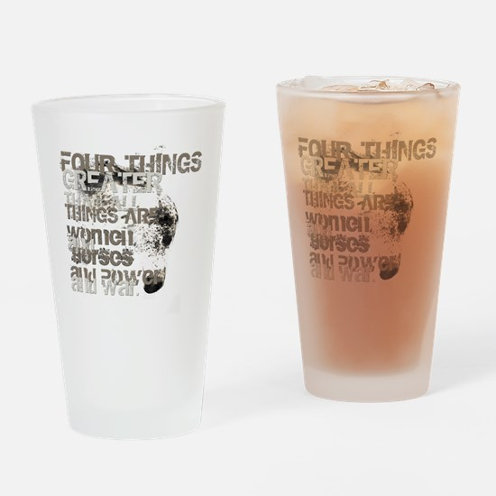 4thingsgreater Drinking Glass
