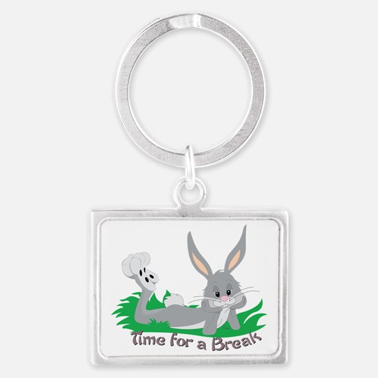 Time for a Break Landscape Keychain