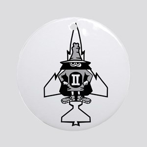 Phantom II & it's Gears Ornament (Round)