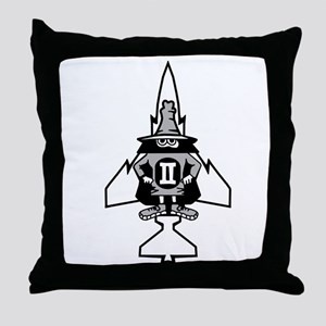 Phantom II & it's Gears Throw Pillow