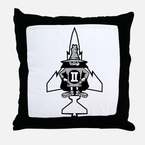Phantom II & it's Gears Throw Pillow