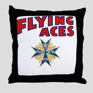 FAC_logo_ONE_4B Throw Pillow