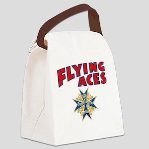 FAC_logo_ONE_4B Canvas Lunch Bag