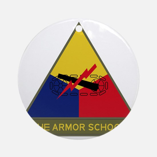 The Armor School Round Ornament