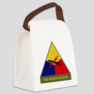 The Armor School Canvas Lunch Bag