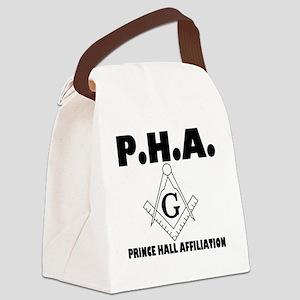 PHA-w-mason Canvas Lunch Bag
