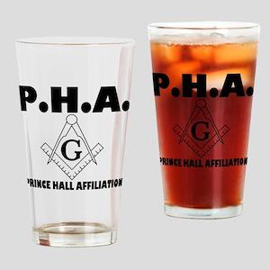 PHA-w-mason Drinking Glass