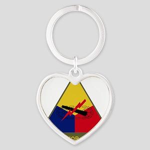 The Armor School Heart Keychain