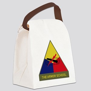 The Armor School Canvas Lunch Bag