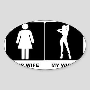 WIFEY Sticker (Oval)