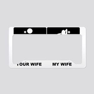 WIFEY License Plate Holder