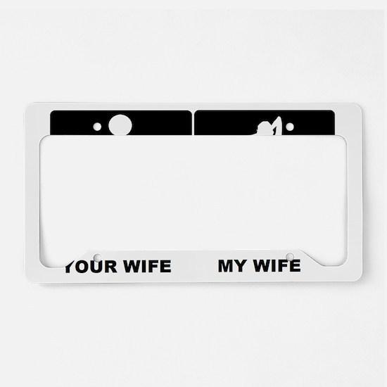 WIFEY License Plate Holder