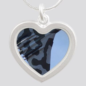P025 Silver Heart Necklace