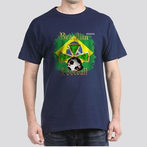 Brazil Football Spice Dark T-Shirt