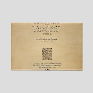 King-Edward-14x10 Rectangle Magnet