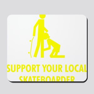 support_yellow Mousepad
