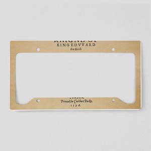 King-Edward-1596-14x10 License Plate Holder