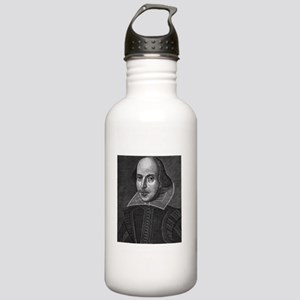 First_Folio-text-only- Stainless Water Bottle 1.0L