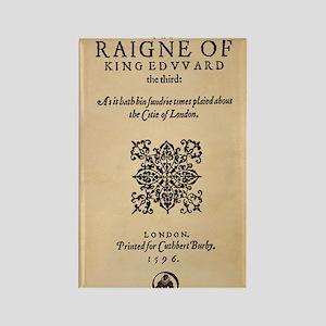 King-Edward-1596-9x12 Rectangle Magnet