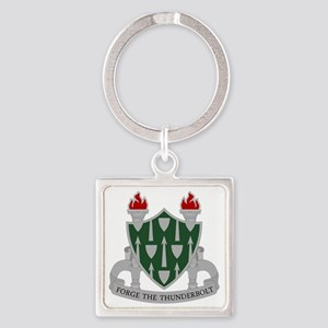 The Armor School - DUI Square Keychain