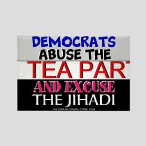 Democrats abuse the Tea Party Magnets