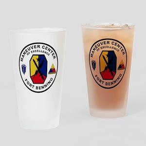 The Armor School - Ft. Benning Drinking Glass