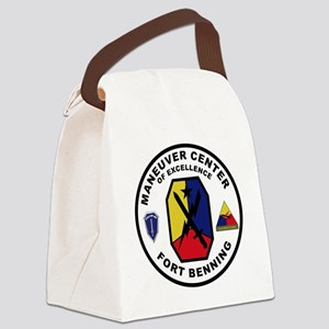 The Armor School - Ft. Benning Canvas Lunch Bag