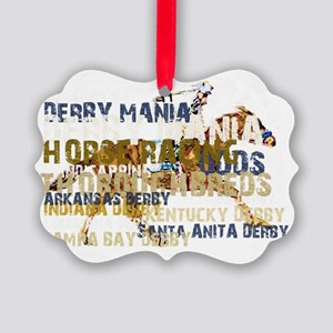 DERBY MANIA Picture Ornament