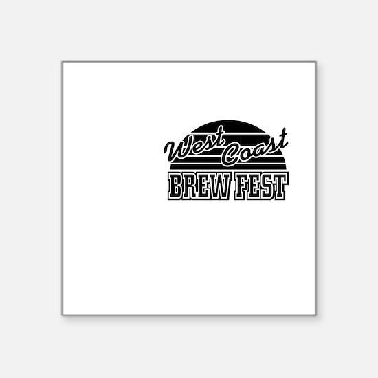 "WCBF2011-Tshirt-Front-RAPTU Square Sticker 3"" x 3"""