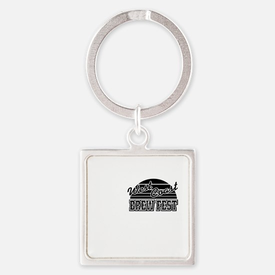 WCBF2011-Tshirt-Front-RAPTURE Square Keychain