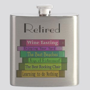 Retired book Stack 2 Flask