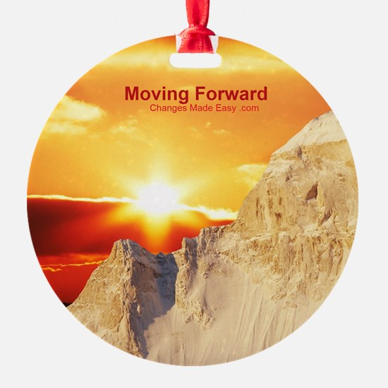 moving forward Ornament