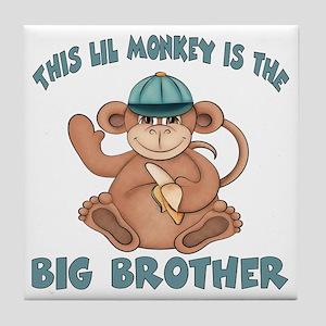 big brother monkey2 Tile Coaster
