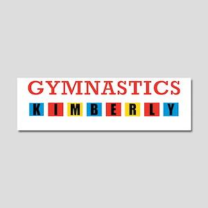 KIMBERLY BLACK SHIRT Car Magnet 10 x 3