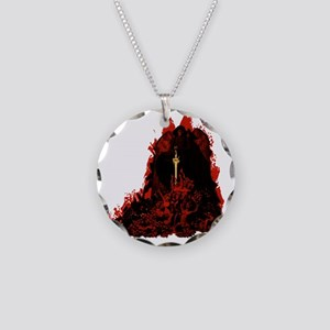 reapershirt Necklace Circle Charm