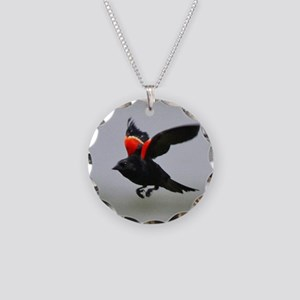 aEagles Redwings 201 tile Necklace Circle Charm