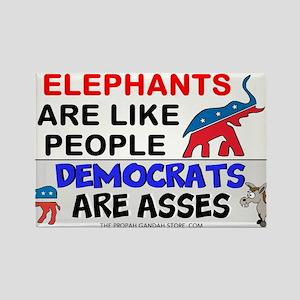Elephants are like people Magnets