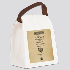 Loves Labors Lost-Square Canvas Lunch Bag