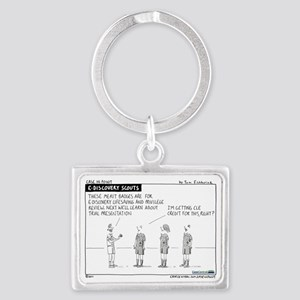 110516.ediscovery.scouts Landscape Keychain