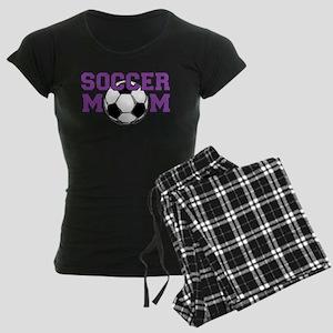 SOCCER Mom in Purple Pajamas