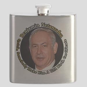 Netanyahu_6X6 Flask