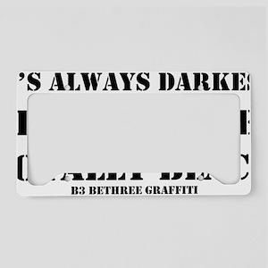alwaysdarkest License Plate Holder