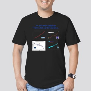 weatherman Men's Fitted T-Shirt (dark)