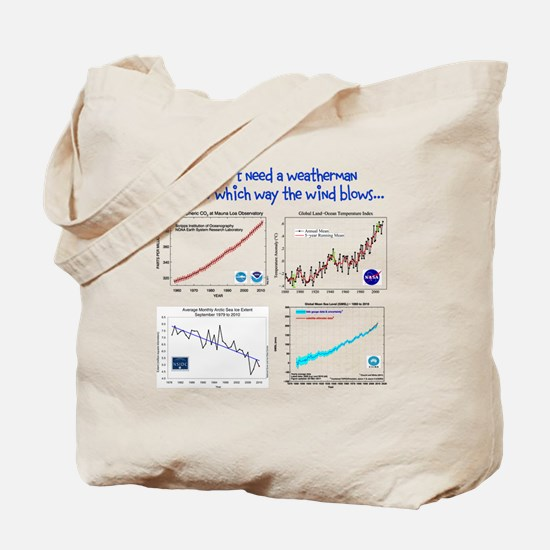 weatherman Tote Bag