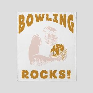 bowl82black Throw Blanket